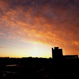 Sunset Time-lapse on 12-05-2019 From St Charles, Illinois