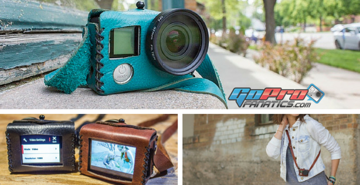 Traveler Leather GoPro Case