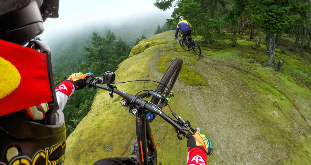 HERO4 Session Mountain Biking