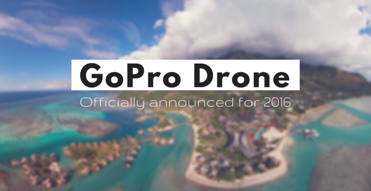 GoPro Drone coming soon