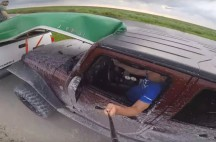 jeep selfie gone wrong