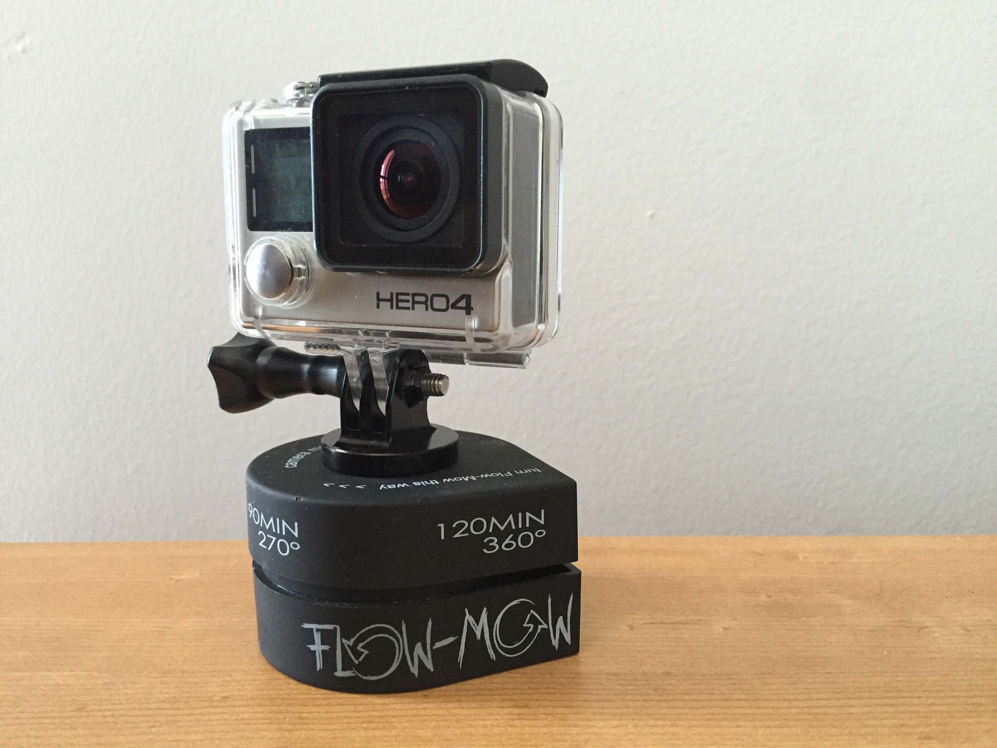 Flow Mow GoPro Time Lapses Mount