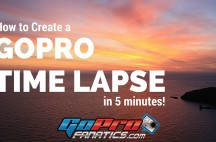 How to make a GoPro Time Lapse in 5 minutes using GoPro Studio