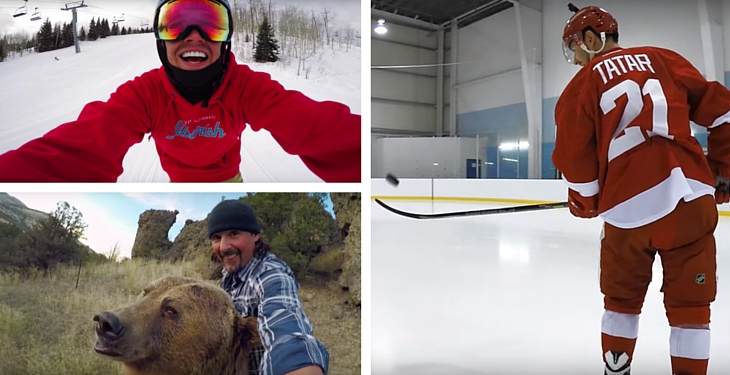 Top 5 GoPro Videos from February 2016