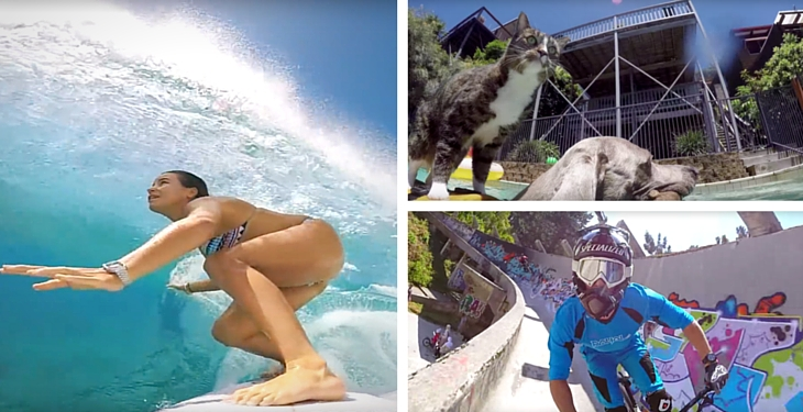 GoProFanatics Top 10 GoPro Videos from March 2016