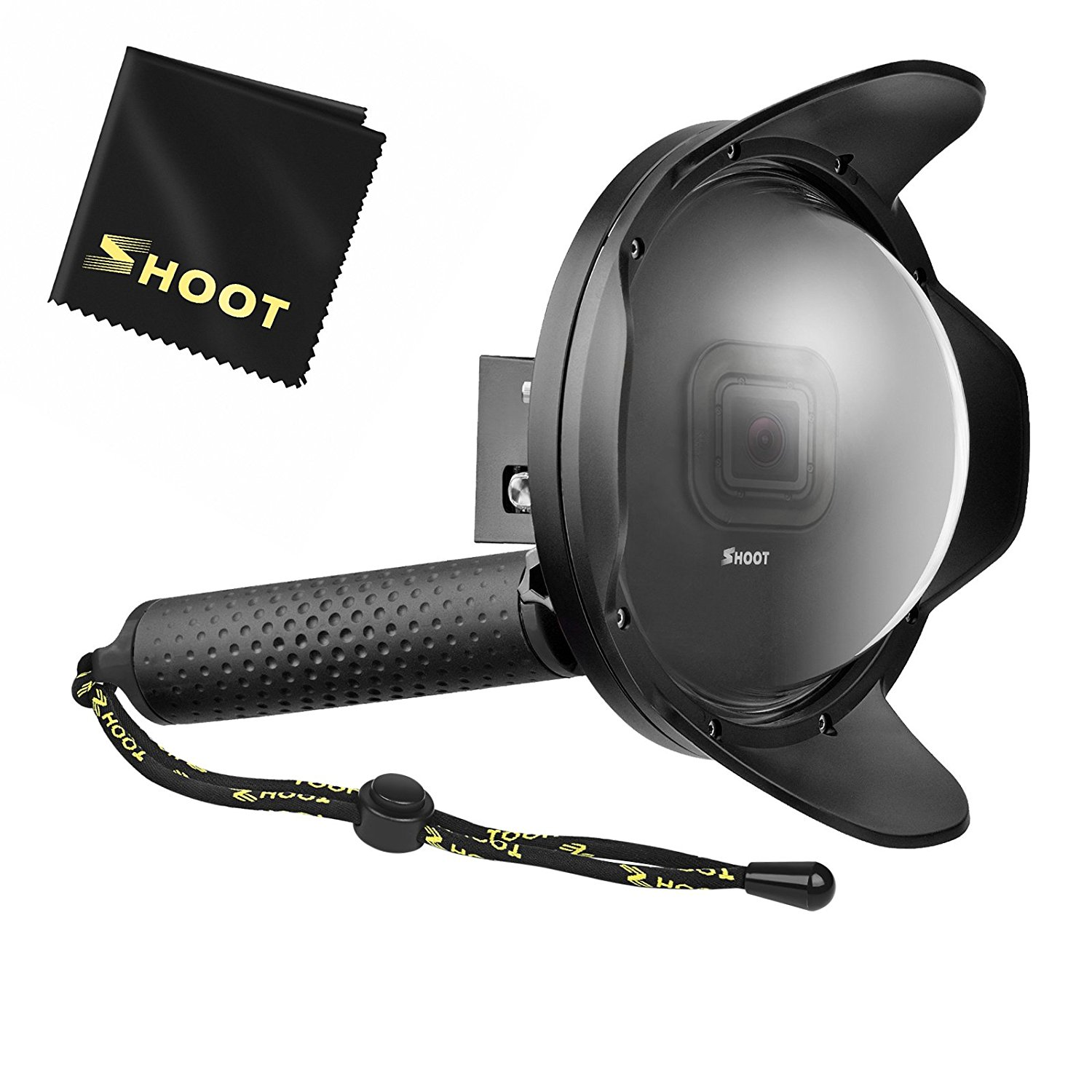 "Shoot 6"" GoPro Dome for Underwater 50/50 Split Shots"